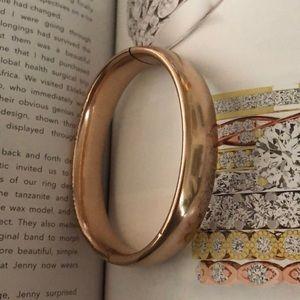 Jewelry - Antique rose gold filled bangle bracelet